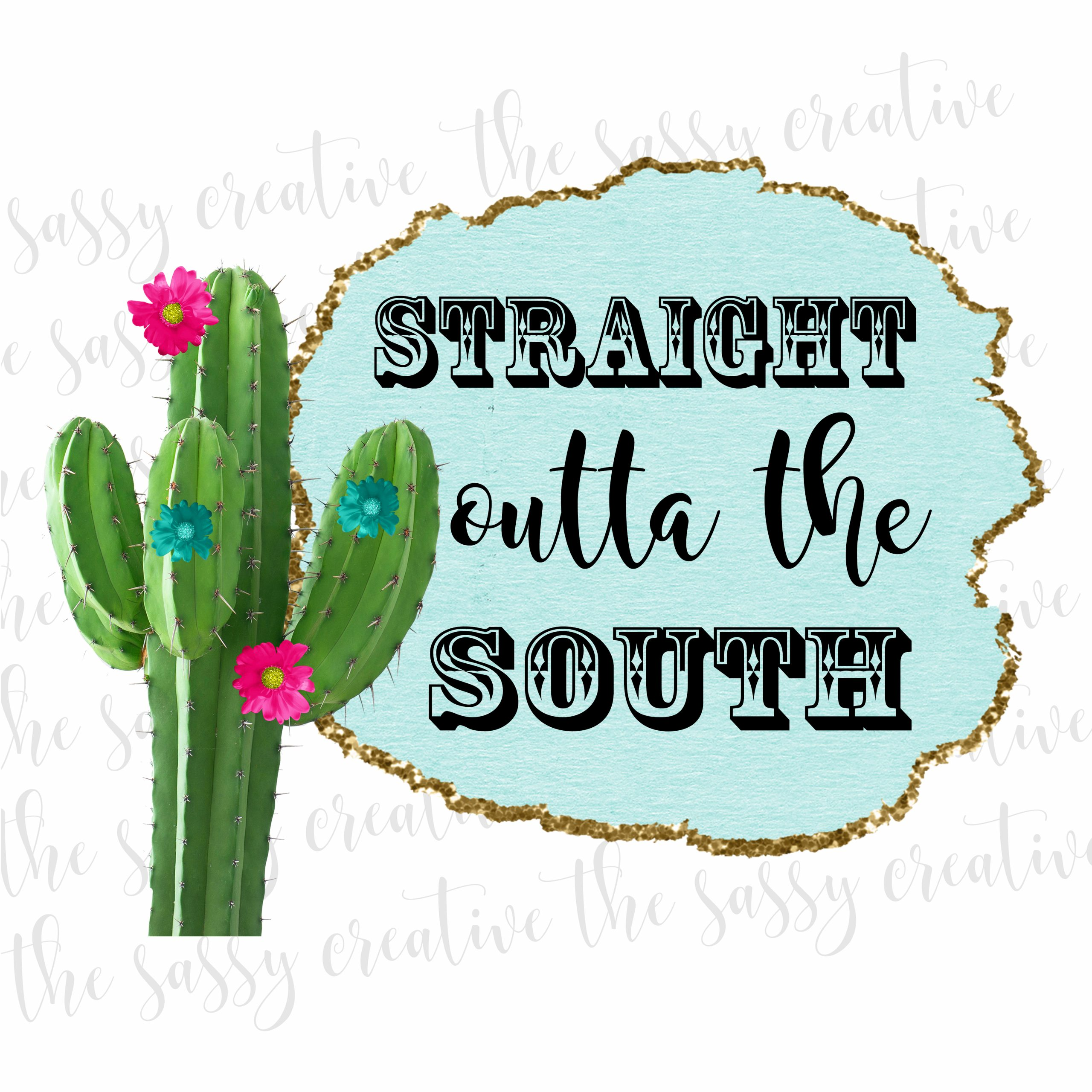 Straight Outta the South Cover 2