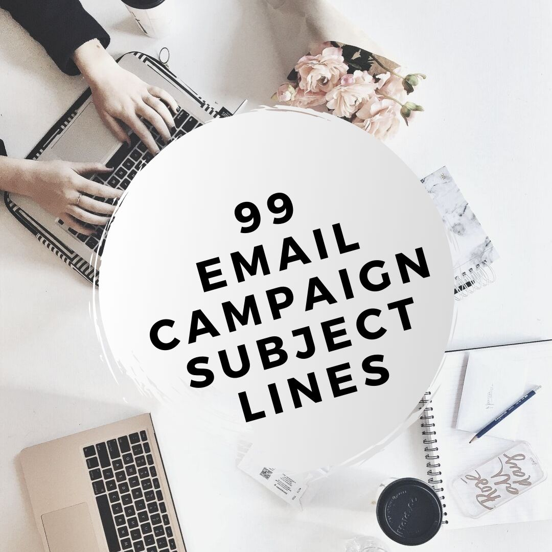 99 email campaign subject lines cover