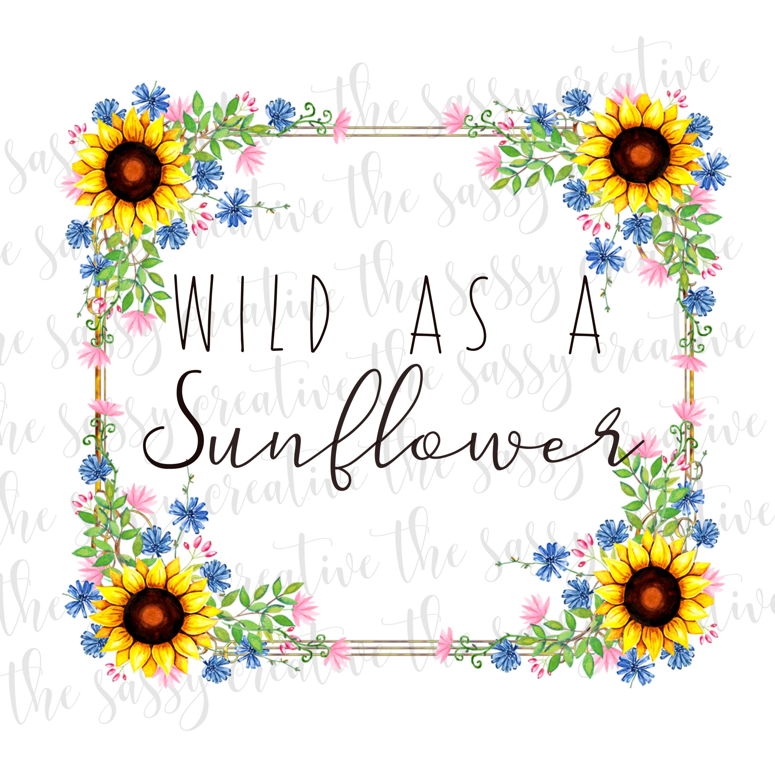 Wildasasunflowercover