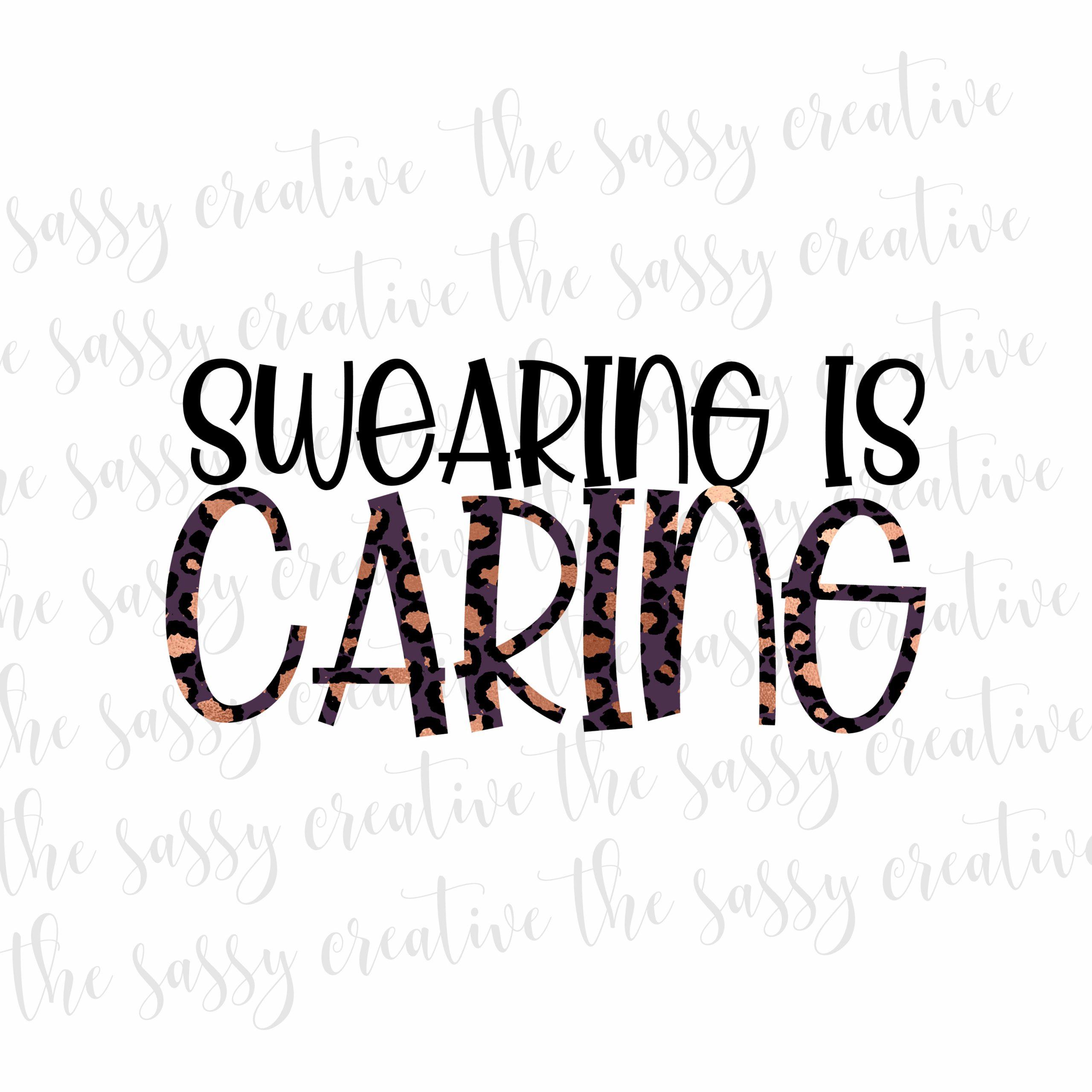 swearingiscaringcover